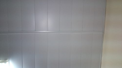 Монтаж реечных панелей встык. USA Ceiling Group