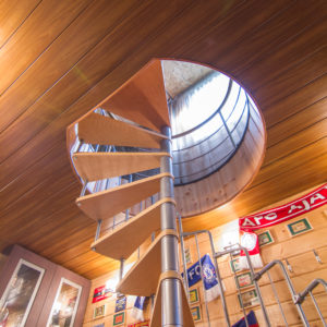 Алюминиевый реечный потолок с фактурой дерева. USA Ceiling Group