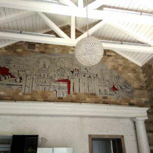 Реечный потолок в пространстве лофт. USA Ceiling Group.