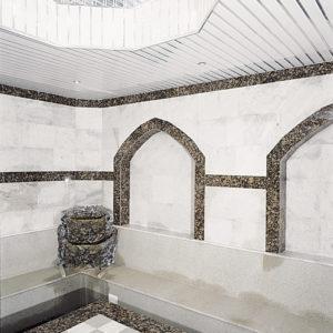 Реечный потолок в спа-зоне. USA Ceiling Group