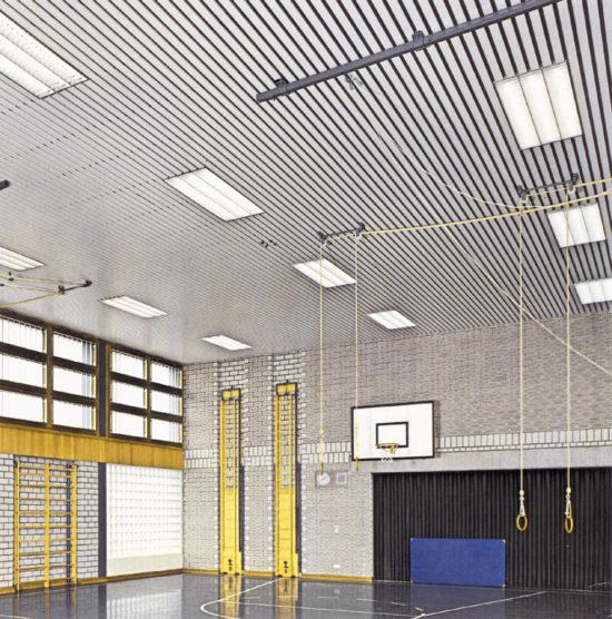 Реечный потолок 84R. USA Ceiling Group.